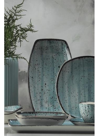 Kütahya Porselen Kütahya Porselen Corendon 30 Parça Kahvaltı Takımı Mavi